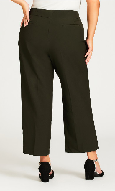 Cool Hand Trouser Olive - petite