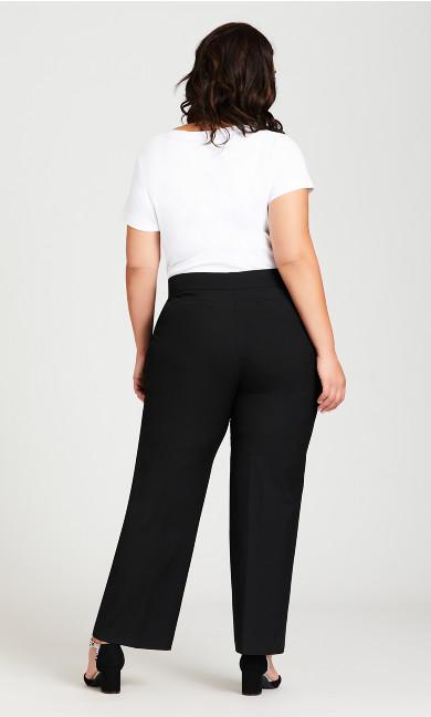 Super Stretch Trouser Black - average