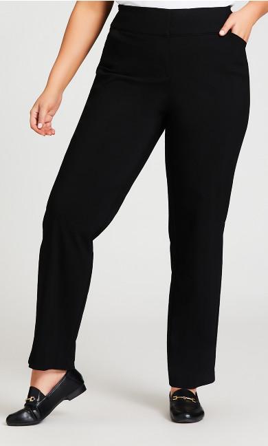 Super Stretch Trouser Black - tall
