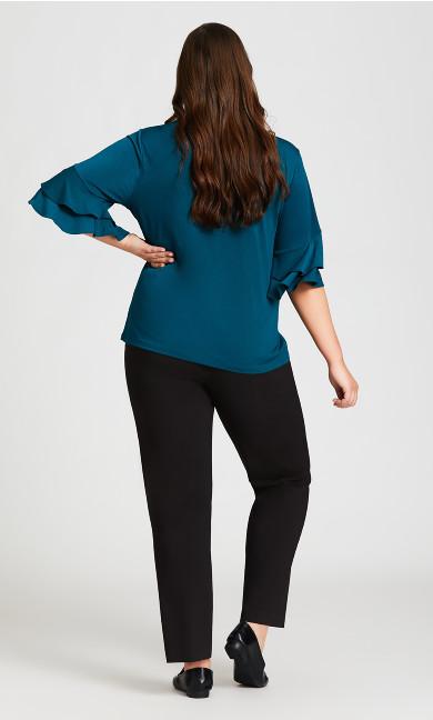 Super Stretch Zip Pant Black - Tall