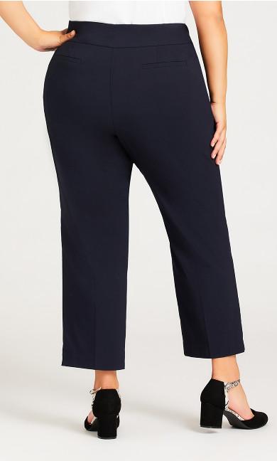 Super Stretch Zip Pant Navy - petite