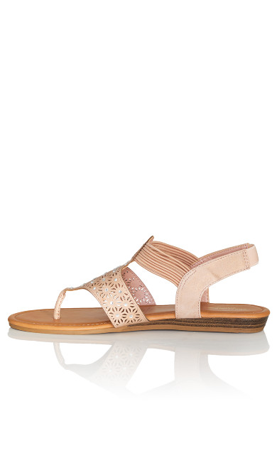 Kimber Sandal - rose gold