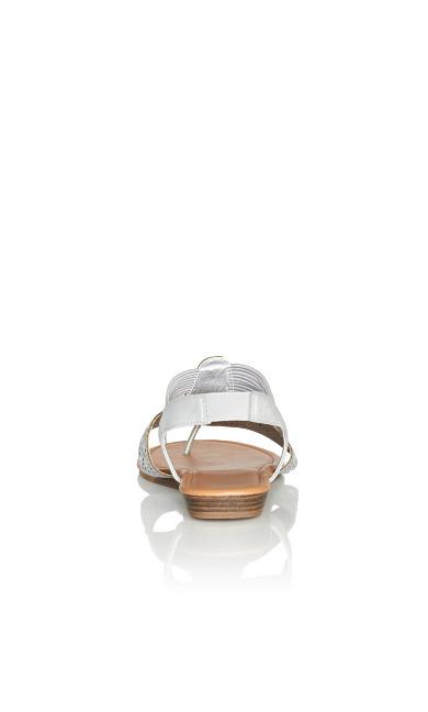 Kimber Sandal - silver