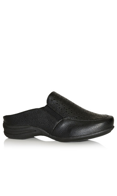 Plus Size Betty Slip On - black