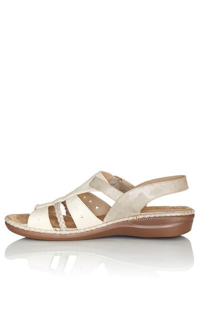 Sarah Slingback Sandal - taupe
