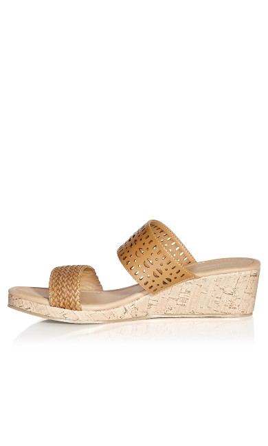 Joy Slide Sandal - tan