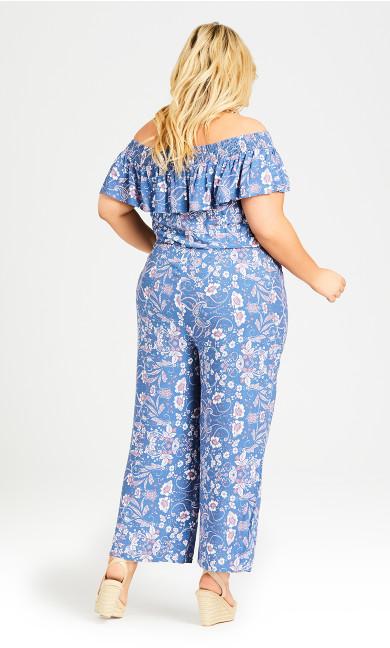 Olivia Jumpsuit - blue