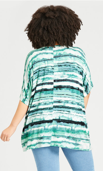 Nova Pleat Top - mint