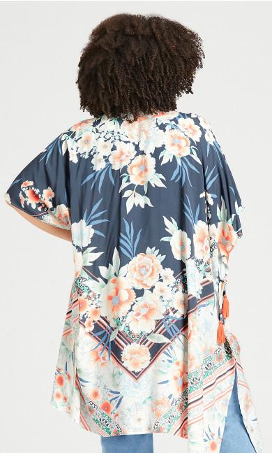 Hannah Kimono - grey