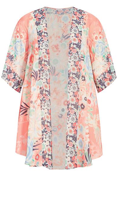 Stella Kimono - peach
