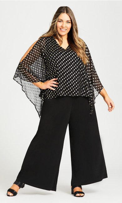 Plus Size Evie Jumpsuit - black