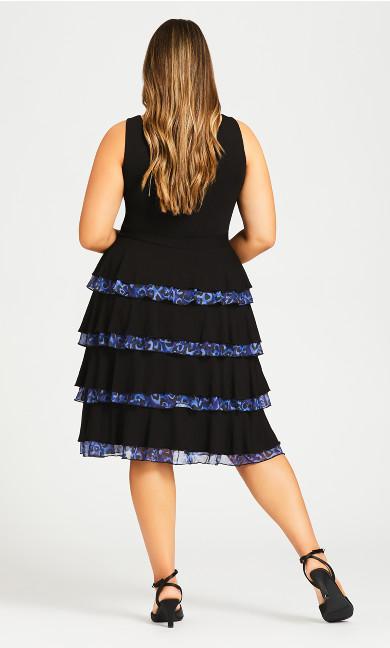 Mariana Tiered Dress - midnight