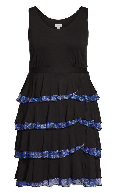Mariana Tiered Dress - midnight