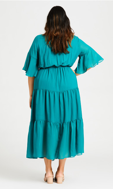 Pippa Maxi Dress - jade