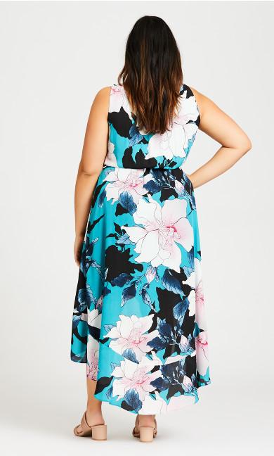 Adriatic Dress - aqua