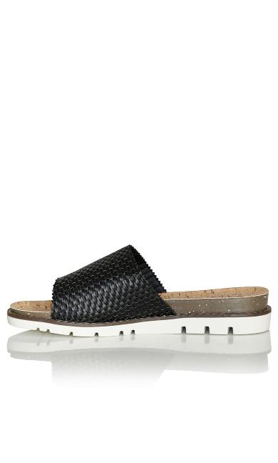 Fiona Slip On Sandal - black