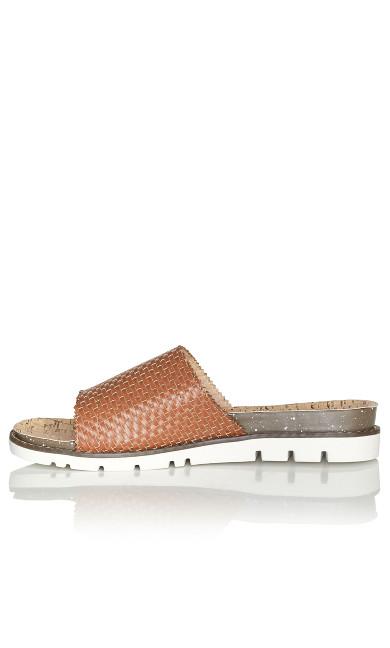 Fiona Slip On Sandal - tan
