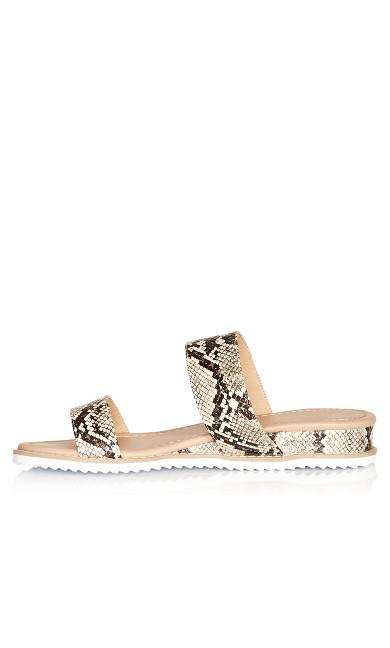 Deena Slip On Sandal - snake