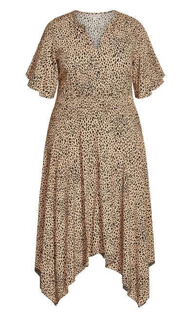 Winner Waist Dress - animal