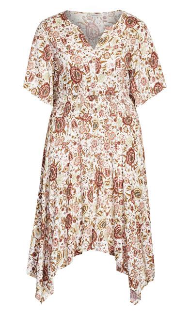 Winner Waist Dress - ivory