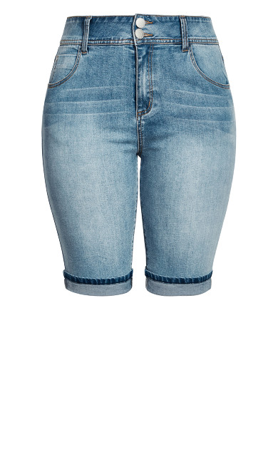 Killer Pins Short - denim