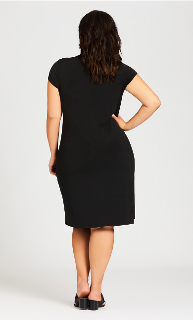Donna Plain Dress - black