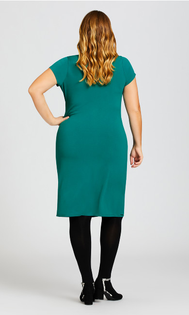 Donna Plain Dress - teal
