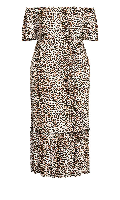 Latifa Dress - animal