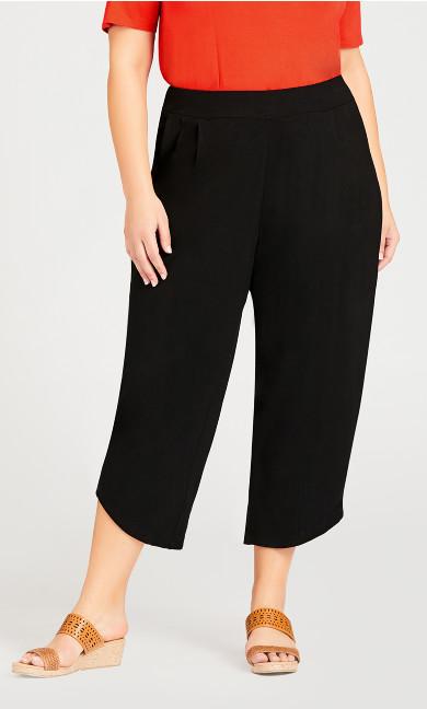 Wild Plain Pant - black
