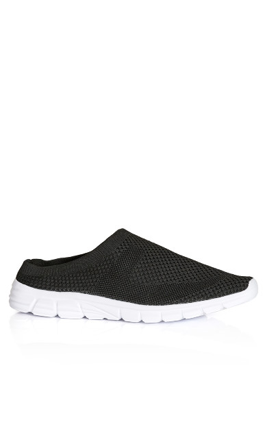 Plus Size Liv Slip On - black