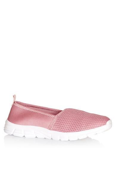 Plus Size Zadie Slip On - pink