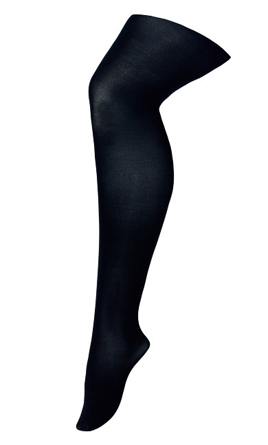 Plus Size Avenue Tights - navy