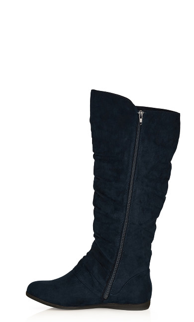 Sasha Tall Boot - navy