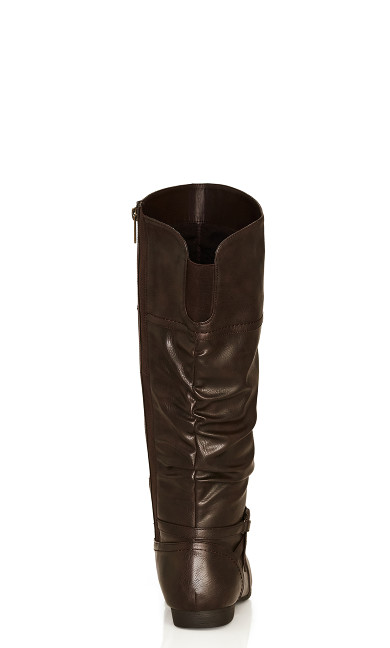 Chelsea Tall Boot - brown