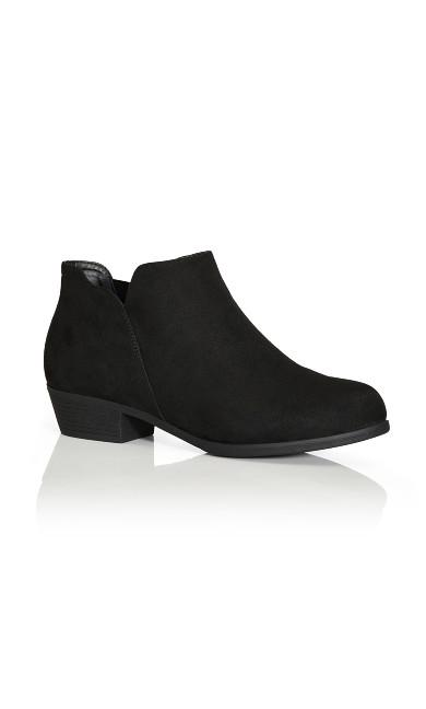 Plus Size Freisa Ankle Boot - black