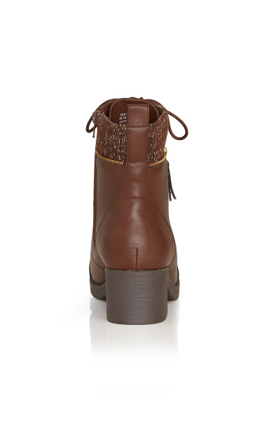 Rita Ankle Boot - brown