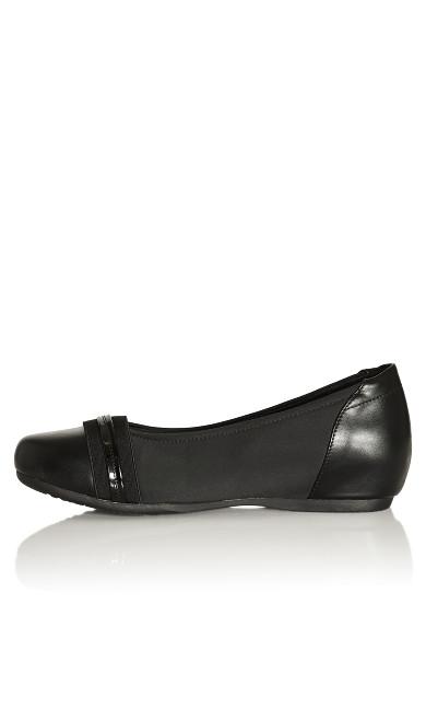 Marlie Ballet Flat - black
