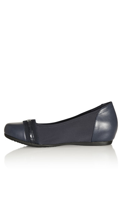 Marlie Ballet Flat - navy