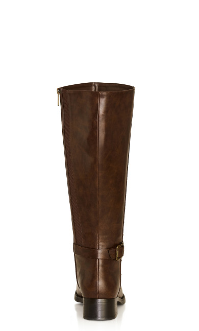 Alex Tall Boot - brown