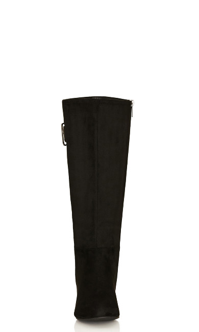 Audrina Tall Boot - black