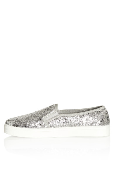 Allie Sneaker - silver