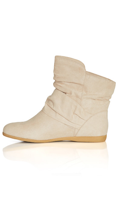 Serena Ankle Boot - beige