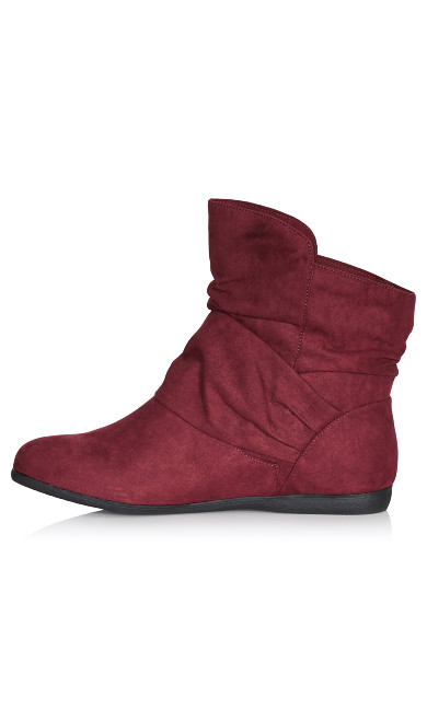 Serena Ankle Boot - burgundy