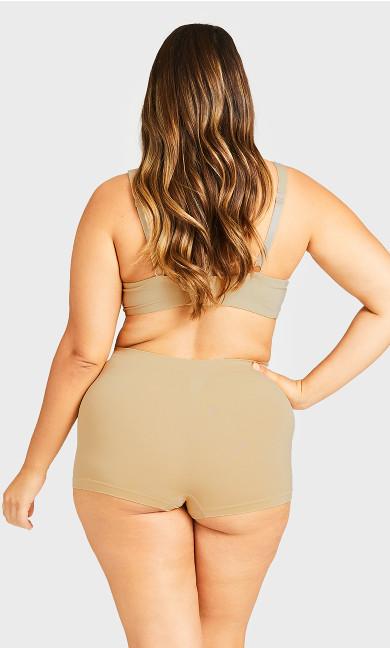 Seamless Boyshort Panty - beige