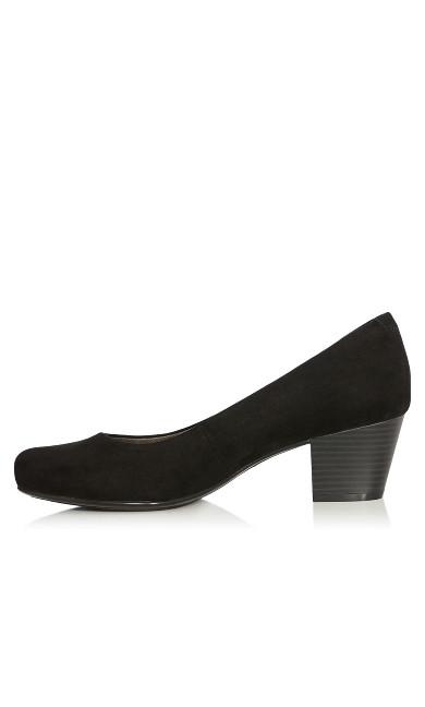 Aja Block Heel Pump - black