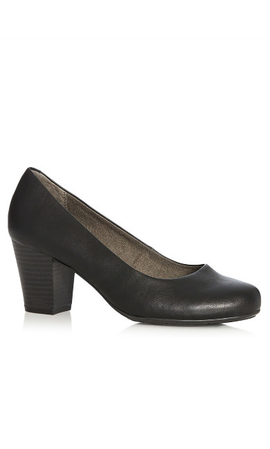 Plus Size  Catherine Pump Heel - black