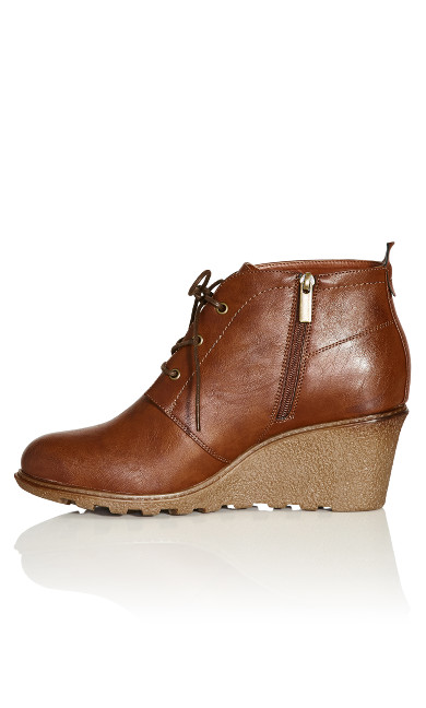 Kylie Ankle Boot  - cognac