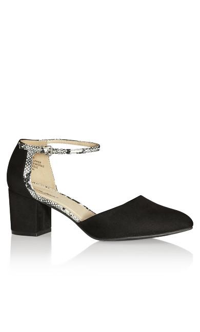 Plus Size Elle Shoe - black