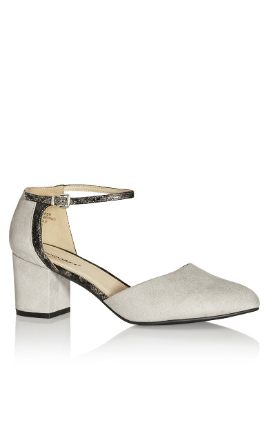 Plus Size Elle Shoe - grey