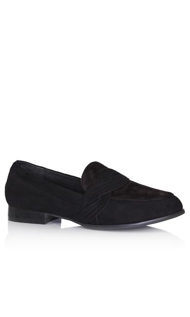 Plus Size Jasper Loafer - black